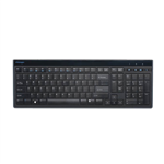 Kensington Washable Wired Usb Keyboard Black