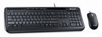 Microsoft APB00018 Keyboard Wired Desktop 600 Corded And Mouse Black