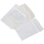 Cumberland Plastic Press Seal Bags 102x150mm Pck 100