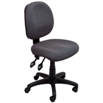 Rapid Task Chair EC070BM Medium Back No Arms CHARCOAL