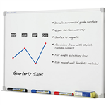 Quartet Penrite Slimline Premium Whiteboard 1500X1200mm