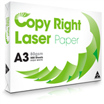 Copy Right Laser Paper Carbon Neutral A3 80gsm White