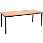 Rapid Meeting Table 1200X600mm BEECHBLACK