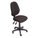 Rapid EC070Bh High Back Task Chair 2 Lever BLACK