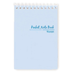 Notebook Spiral Pocket 90 Page Top Open