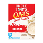 Uncle Tobys Oats Quick Breakfast Cereal 340g Ctn Of 5 Packs