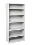 Rapid Shelving Unit 5 Shelves 910W X 400D X 2200H Mm GREY