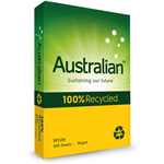 Australian Copy Paper 100 Recycled A3 80gsm White