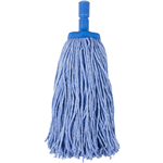 Cleanlink Mop Heads Coloured 400gm Blue