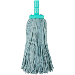 Cleanlink Mop Heads Coloured 400gm Green