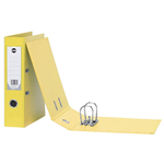 Marbig Binder A4 Lever Arch 75mm Capacity PVC Yellow