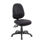 DELTA DUO SPLIT SEAT HIGH BACK BLACK 135KG