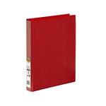 MARBIG ENVIRO INSERT BINDERS A4 4D 25MM RED