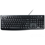 Logitech K120 Wired Keyboard Black
