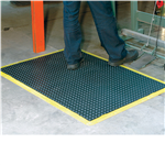 ITALPLAST BUBBLE MATS 1200X900MM BLACKYELLOW