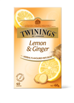 Twinings Tea Bags Lemon and Ginger 60g Pack 40