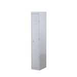 STEELCO 1 DOOR LOCKER  1830H X 305W X 460D SILVER GREY