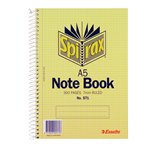 Spirax 571 Notebook Side Open A5 300 Pages