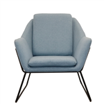 RAPID CARDINAL ARM CHAIR LIGHT BLUE