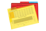 Marbig Letter File Secure Flap And Tab A4 Assorted 3