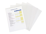 Marbig Ultra Letter File PP A4 Clear Pack 10