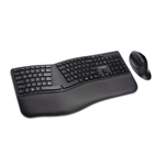 Kensington Pro Fit Ergo Keyboard and Mouse K57406US Wireless Black