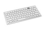 Kensington MultiDevice Dual Wireless Compact Keyboard Silver
