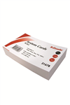 Esselte System Cards Ruled 127x76mm 5x3 100 WHITE