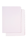 Marbig Dividers Manilla A4 10 Tab Unpunched White