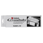 Crystalfile Twin Lock Clear Tabs Pack 50