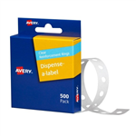 Avery Reinforcement Rings 13mm Permanent 500 Box