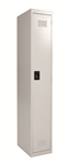 Rapid Go Locker 1 Tier 1830X305X455mm Assembled SILVER GREY