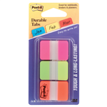 PostIt Tabs 686PGO Durable Index Assorted 3