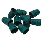 Esselte Superior Thimblettes Size 0 16mm Green