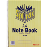 Spirax 595A Notebook Side Open A4 240 Page