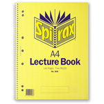 Spirax 906 Lecture Book Side Open A4 140 Pages