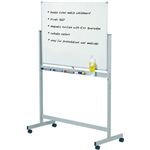Quartet Penrite Slimline Premium Whiteboard Magnetic Mobile 1800x1200mm