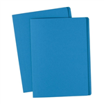 Avery Folders Manilla Foolscap Box100 DARK BLUE