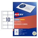 Avery Business Cards L7415 10 UP Laser Inkjet SS 100