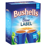 Bushells Tea Bags Box 100
