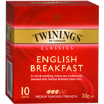 Twinings Tea Bags English Breakfast Enveloped Pack 10