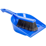 Cleanlink Dustpan and Brush Set Blue