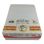 Bibbulmun Pad Premium Ruled A4 Bank White Pack 10