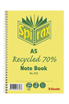 Spirax 812 Recycled Notebook A5 120 Pages