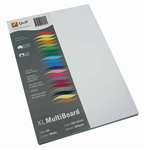 Quill Board A4 200gsm White 100 Pack