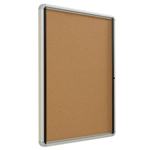 QUARTET CORK BOARD ENCLOSED QTEIHC3930 990 X 762MM