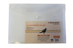 Document Wallet Doculope A4 Pack 10 CLEAR
