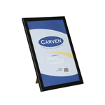 Carven Document Frame Wide Profile A4 Black