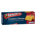 Arnotts Biscuits Country Cheese 250gm