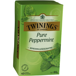 Twinings Tea Bags Pure Peppermint Pack 40
